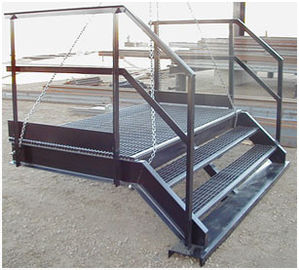 China Q235 / Q345 Structural Steel Fabricators Hot-dipped Galvanized Surface supplier