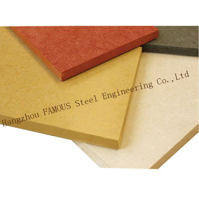 China Fire Resistence Interior & Exterior Wall Pressure Board Fire Proof Colored Cement Fiber Panel supplier
