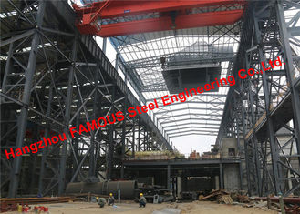 China Prefabricated Structural Steelworks For Crushed Broken Stone Mining And Quarrying Construction Site supplier