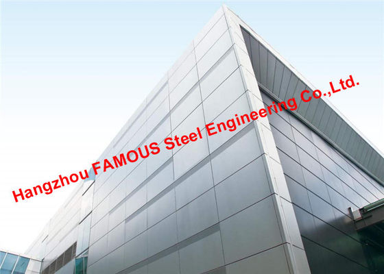 China 2200 Square Meters Aluminum Veneer Curtain Wall and Awning Exported To Oceania supplier