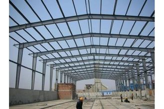 China Q345B mateial commercial Structural Steel Fabrications Enviromental friendly supplier