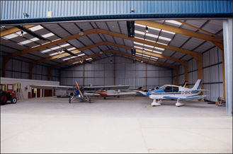 China Easy Expansion Aircraft Hangar Buildings supplier
