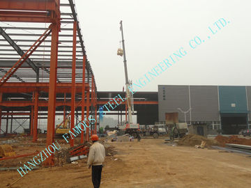China Multi Gable Span Steel Framed Buildings Prefabricated ASTM Standards 82' X 96' H Section supplier