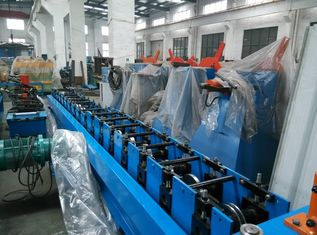 China Solar Rack Cold Roll Forming Machine Q195 / Q235 Carbon Steel supplier