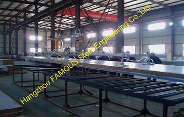 China Corrugated Metal Roofing Sheets , Fire Rated Insulated Roofing Sheets supplier