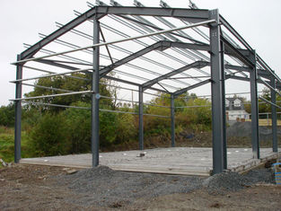 China Light Structural Steel Framing Systems For Industrial Steel Buildings, Warehouse Building supplier