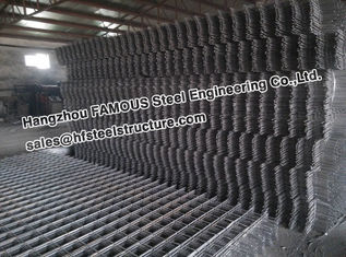 China Square Ribbed Steel Reinforcing Mesh Contruct Reinforced Concrete Slabs supplier