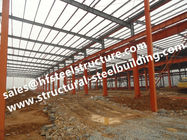 China Hot Galvanized Industrial Steel Buildings Modular Construction Sheds And Warehouse Din1025 factory