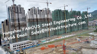 China Prefab Modular Architecture Multi Storey Steel Frame Buildings Apartment Project factory