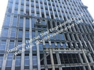 China Double/Triple Insulated Fire Glass Façade Curtain Walling Units Structural Glazing Stick Built System factory