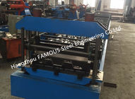 China Steel Composite Floor Decks Metal Roll Forming Machine Cold Roll NZS BS AS factory