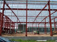 China Chinese Supplier Modern Assembly Industrial Steel Structure Building For Commercial Shopping Mall factory