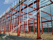 China Modern Multifunctional Easy To Expand  Industrial Steel Buildings Turnkey Project For Commercial Use factory