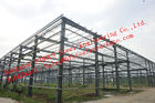 China NZ AS Various Standards Industrial Steel Buildings For Structural Skeleton Framed Steel Building factory