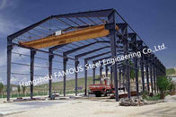 China Steel Framelight Pre-Engineered Building Dimension Customized For Workshop factory