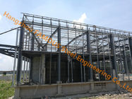 China Prefabricated Design EU Standard Pre-engineered Building Steel Structure Building With Tekla Model factory