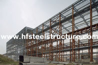 China Custom Structural Industrial Steel Buildings For Workshop, Warehouse And Storage factory