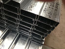 China Q235 Q345 Galvanized C and Z Steel Purlins With 275g/m2 Zinc Coating Thickness company