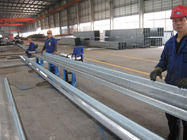 China Common-used C and Z Section Galvanised Steel Purlins For Fix Roof And Side Claddings company