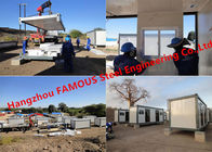 China Modern Steel Frame Modular &Prefab Container Homes For Site Office And Temporary Accommodation factory