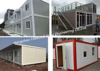 China Folding Living Modern Prefab Homes G +1 Floor Modular Integrated Home For Labour Camp Or Site Office factory