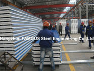 China Corrugated Steel Roofing Sheet Metal Roofing Sheets Sandwich Panel EPS PU Rock Wool distributor
