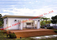 China Lightweight 40ft Prefab Container House For Living Accommodation With Painted Surface factory