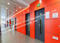 China Surface Painted Standard Size Industrial Fire Rated Doors 3 Hours Fire Resistant factory