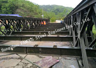 China Steel Fabricator Prefabricated Steel Structural Bailey Bridge Of Reinforced Steel Q345 factory