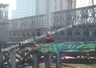 China HD200 Double Row Deck Type Modular Steel Bailey Bridge Hoisting Installation in Site factory