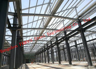 China PV Glass Curtain Wall Surface Industrial Steel Buildings Lightproof And Heat Insulation factory