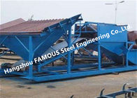 Structural Steel Frames for Stacker Feed Conveyor and Bridge Reclaimer Hopper
