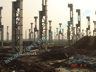 China Cement Plants ASTM Steel Framed Buildings , prefab steel buildings factory