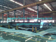 China Prefabricated Commercial Structural Steel Buildings For Hangars Size 60 X 80 factory