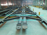 China Steel Framed Industrial Steel Buildings Galvanized ASTM A36 Purlins / Girts factory
