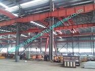 China Metal Customized Prefab Industrial Steel Buildings Easy Erection With C Purlins factory