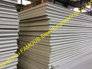 China Structural Polyurethane Sandwich Panels Soundproof With Color Steel factory
