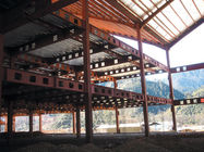 China Hot Dip Galvanized, Welding, Braking, Rolling , Prefabricated Steel Pre-Engineered Building factory
