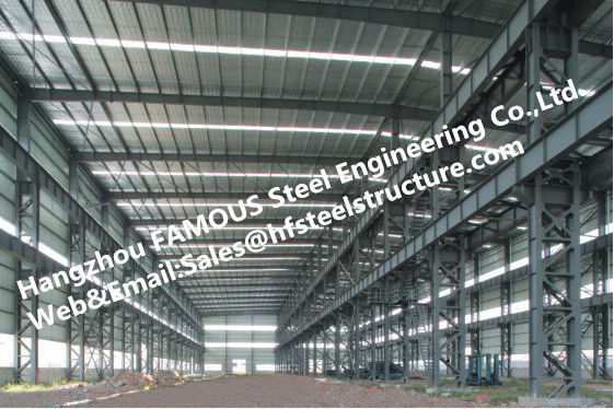 Fabricated Steel Industrial Steel Buildings with Galvanized