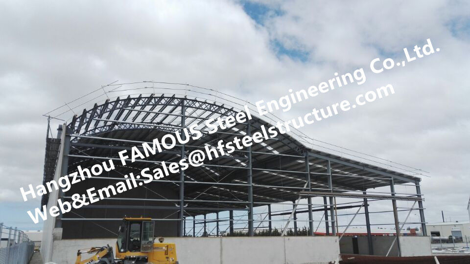 china metal galvanized steel frame buildings fabricated steel structure construction supplier