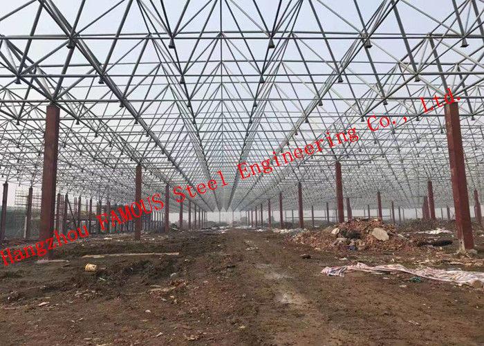 Huge Span Steel Frame Buildings , Steel Structure Building ...