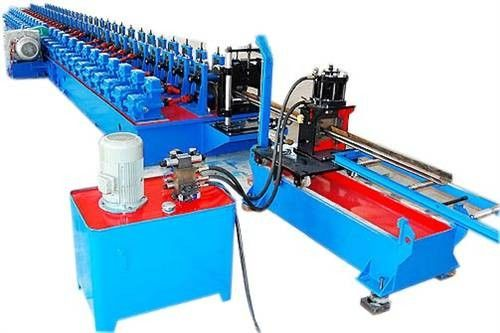 Coil Process Cold Roll Forming Machine C Z For Galvanized