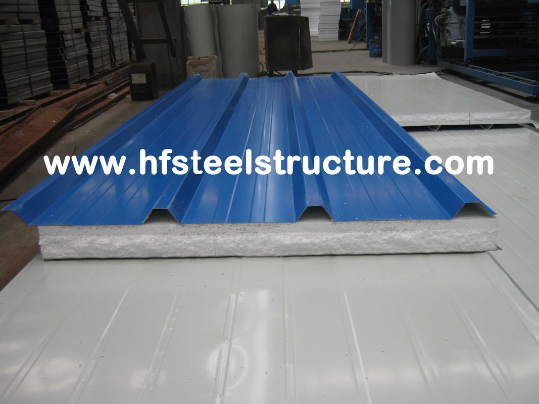Color Steel Metal Roofing Sheets Sandwich Panel With 0 3