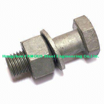Hex Bolts Steel Buildings Kits For Steel Frame Building And Bridge ...