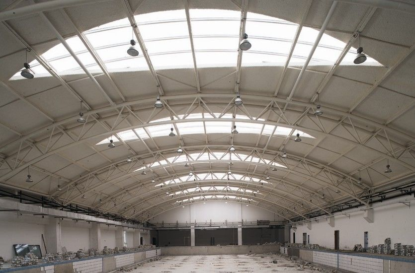 Portal Frame And Truss Structure Industrial Steel
