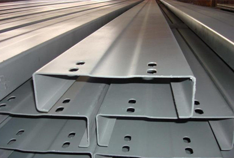 C Z Section Galvanised Steel Purlins Roll Formed From Hi