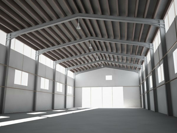 H Section Industrial Steel Buildings Design And