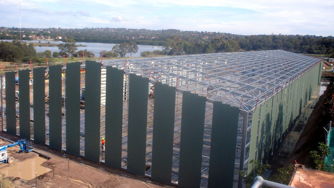 High Standard Industrial Steel Buildings Fabrication With