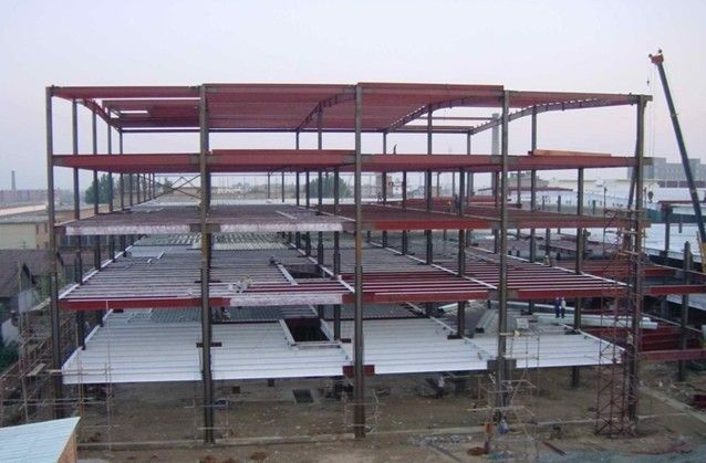Structural Steel Framing : High strength multi functional storey steel