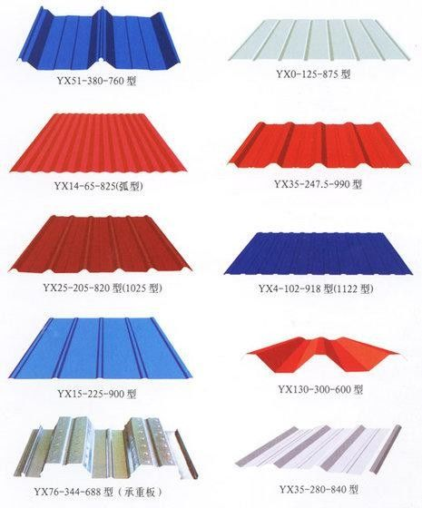 China Color Coated Metal Roofing Sheets Customzied For Steel Structure  Supplier